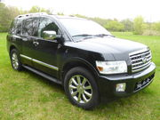 2010 Infiniti QX561 OWNER-BLACK ON BLACK-LOADED-4WD-NAVIGATION-DVD